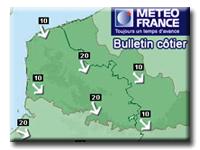 Prévision Météo marine Nord Pas de Calais