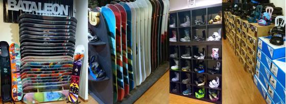 YouRide, snowboardshop à Lille