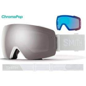 Masque Smith I/O MAG 2020 White Vapor Chromapop Sun Platinum