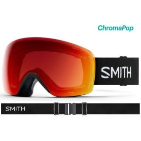 Masque Smith Skyline 2020 Black Chromapop Photochromic Red