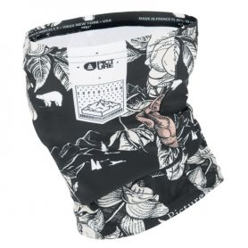Cache-cou Picture Peonies Black 2021
