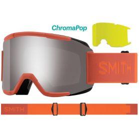 Masque Smith Squad 2021 Burnt Orange Chromapop Sun Platinum Mirror