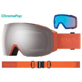 Masque Smith I/O MAG 2021 Burnt Orange Chromapop Sun Platinum Mirror