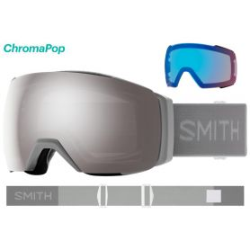 Masque Smith I/O MAG XL 2021 Cloudgrey Chromapop Sun Platinum Mirror