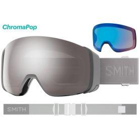 Masque Smith 4D MAG 2021 Cloudgrey Chromapop Sun Platinum Mirror