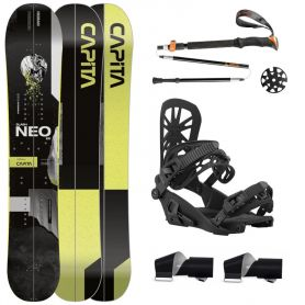 Pack Splitboard Capita Neo Slasher + Union Expedition 2021