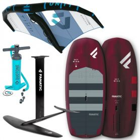 Pack Wingsurf Duotone Unit + Fanatic Aero High Aspect + Fanatic Skywing 2021