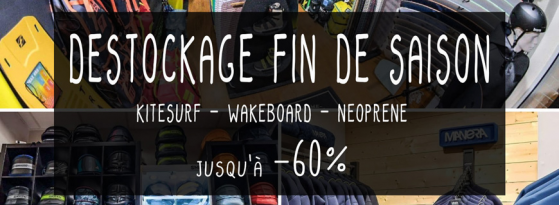 DESTOCKAGE FIN DE SAISON